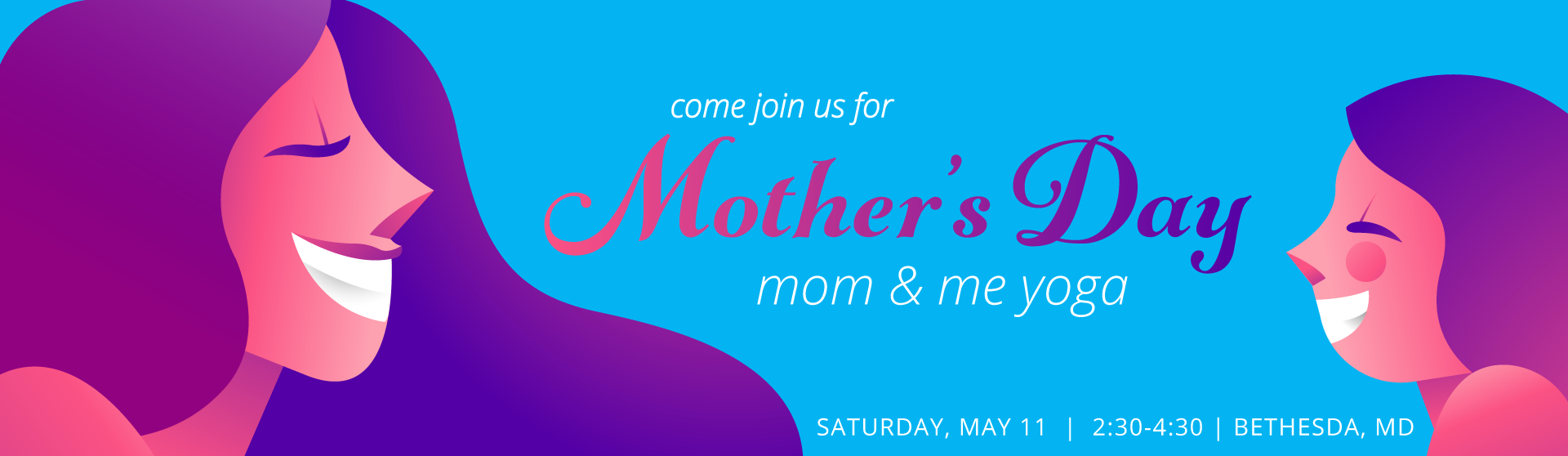 Mother's day: Mom and Me Yoga